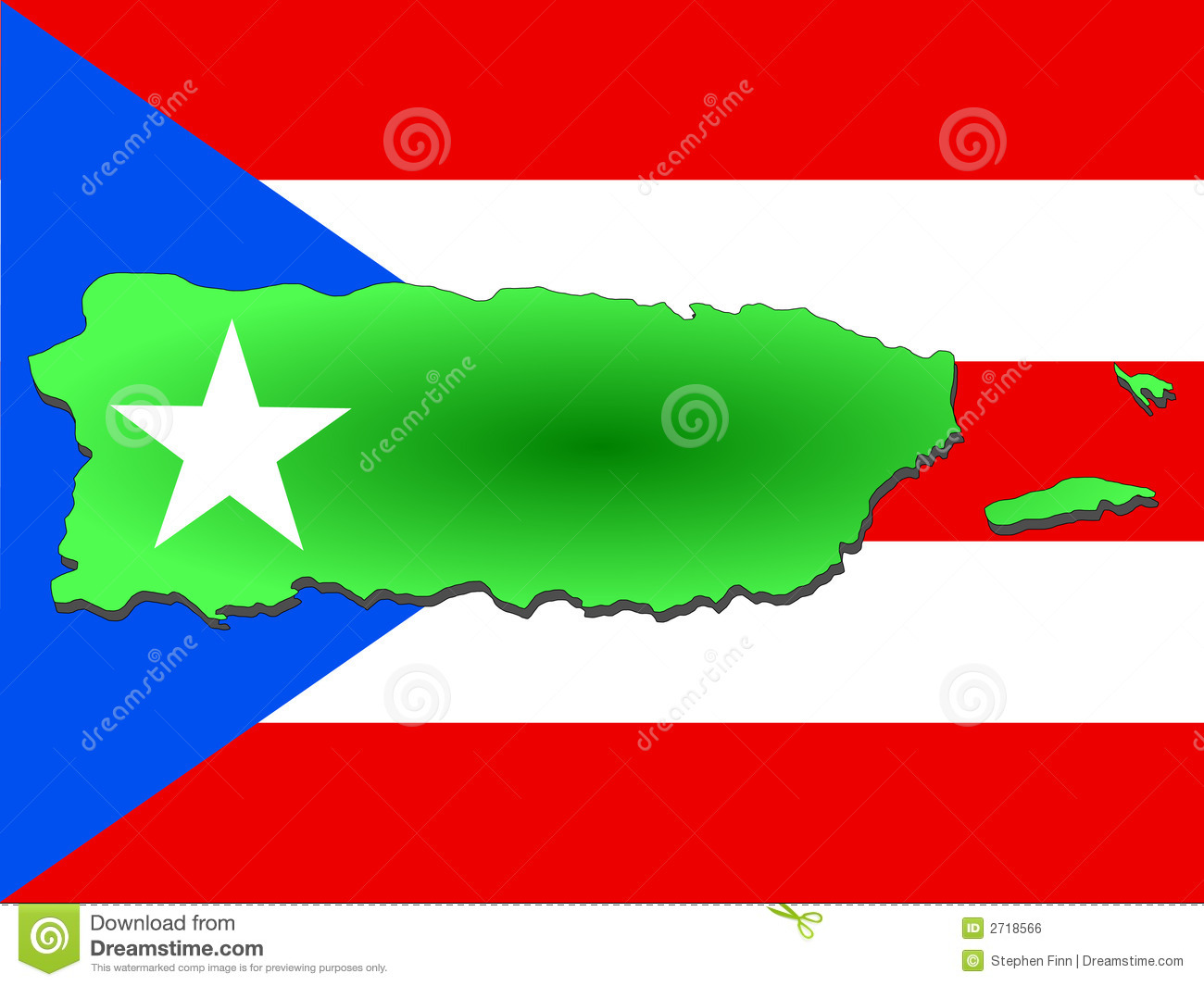 Free puerto rico clipart silougette map.