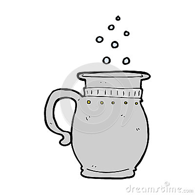 Pewter Tankard Stock Illustrations.