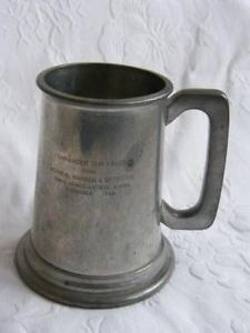 Glass Tankard.