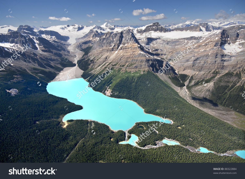 Peyto Lake Banff National Park Alberta Stock Photo 88322884.