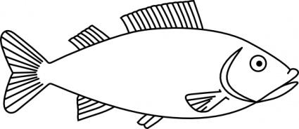 Tuna Fish Clip Art.