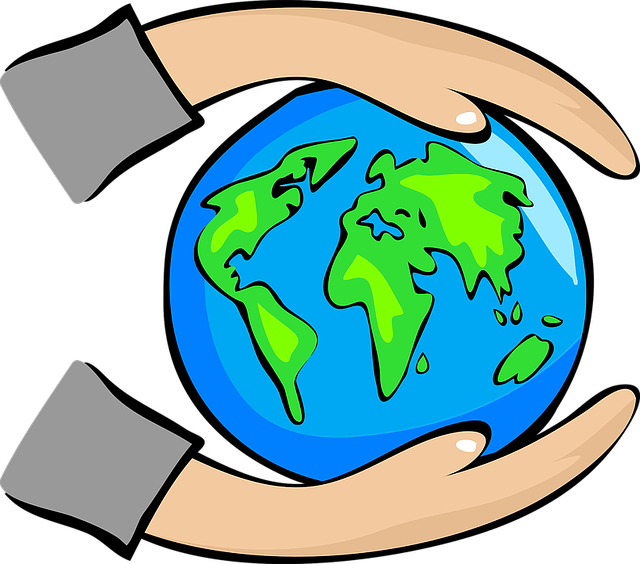 Free vector graphic: Abstract, Art, Earth, Globe, Hands.