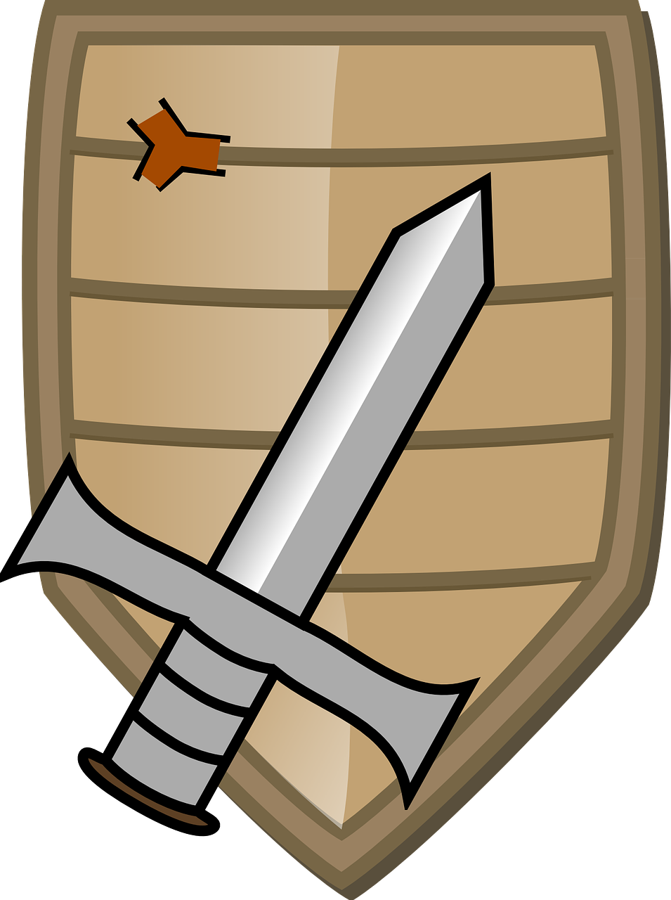 Sword,shield,knight,coat of arms,medieval.