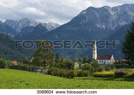 Stock Photo of Pfronten, Bavaria, Germany, Europe 3589604.