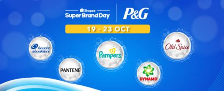 Shopee partners with Procter & Gamble to launch P&G Super.