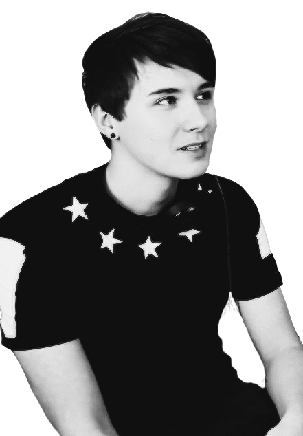 Image about black and white in Dan and Phil by мarli..