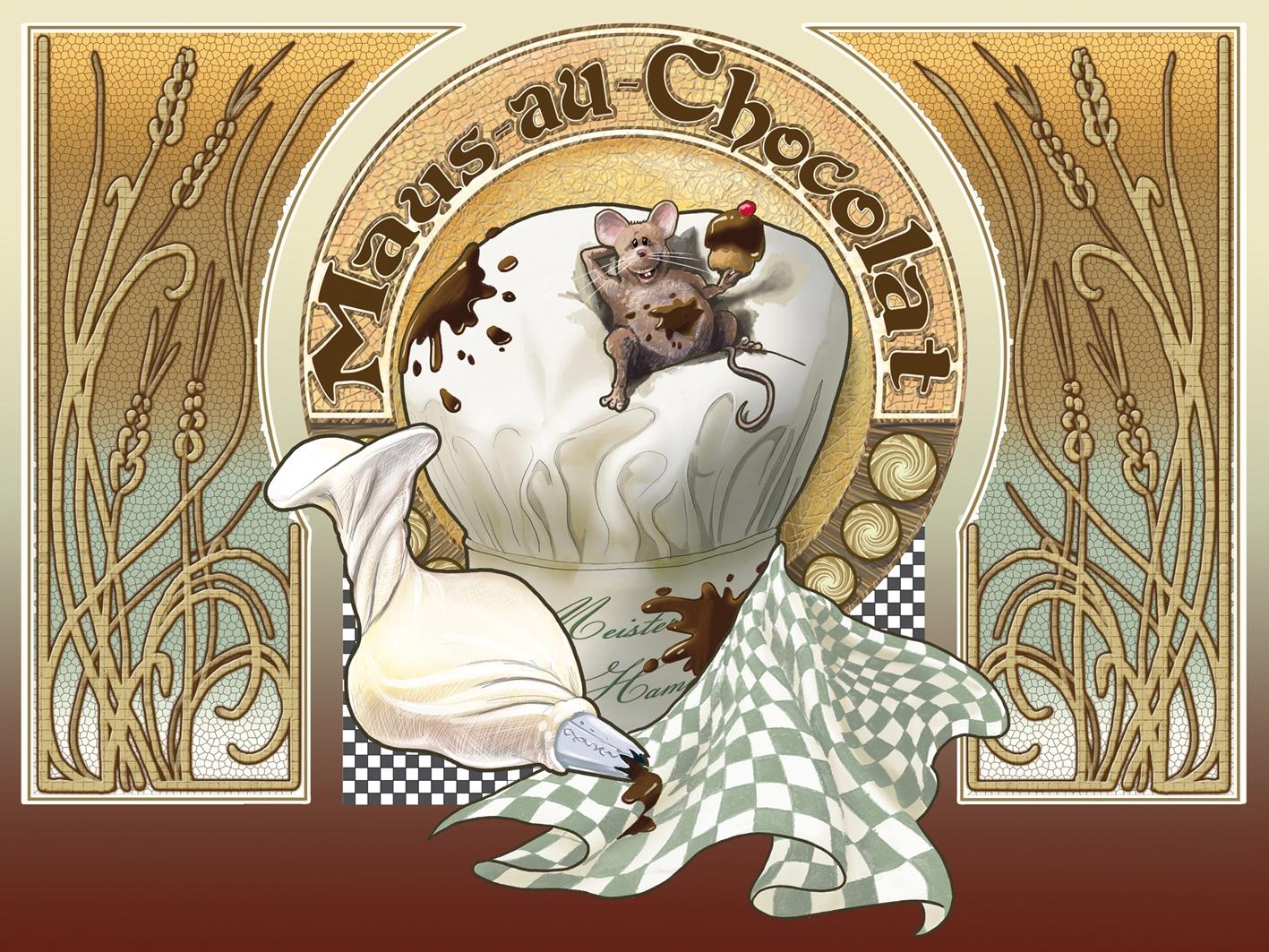 Maus au Chocolat, Phantasialand.