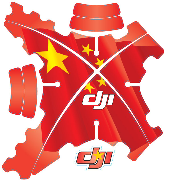 Aliexpress.com : Buy DJI Phantom 2 Chinese flag Shell Stickers.