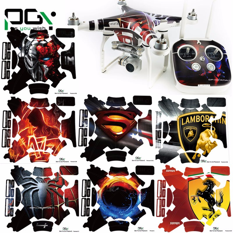 Popular Dji Phantom 2 Remote Control Decals.