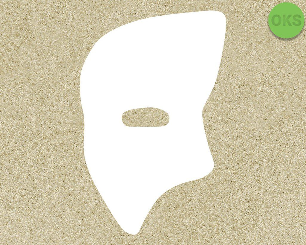 Phantom Mask svg, dxf, vector, eps, clipart, cricut.