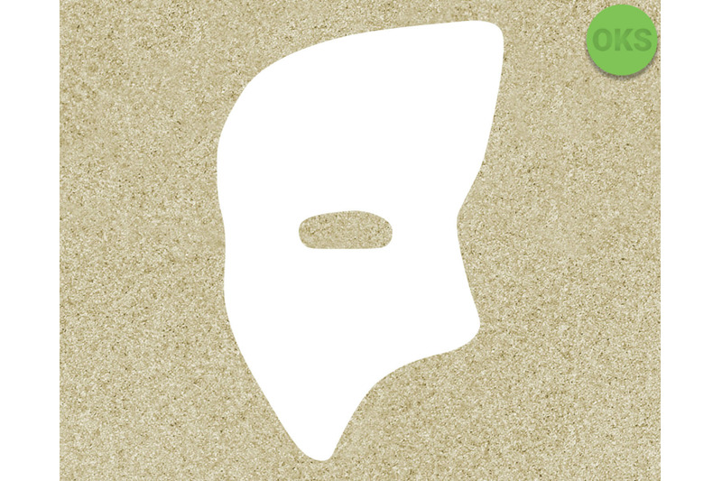 phantom mask svg, svg files, vector, clipart, cricut.