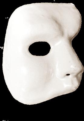 Phantom Opera Mask transparent PNG.