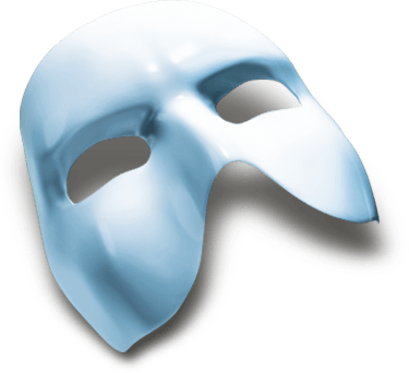 The Phantom Of the Opera Mask Musical transparent PNG.