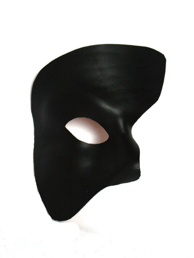 Phantom Of The Opera Mask Drawing.