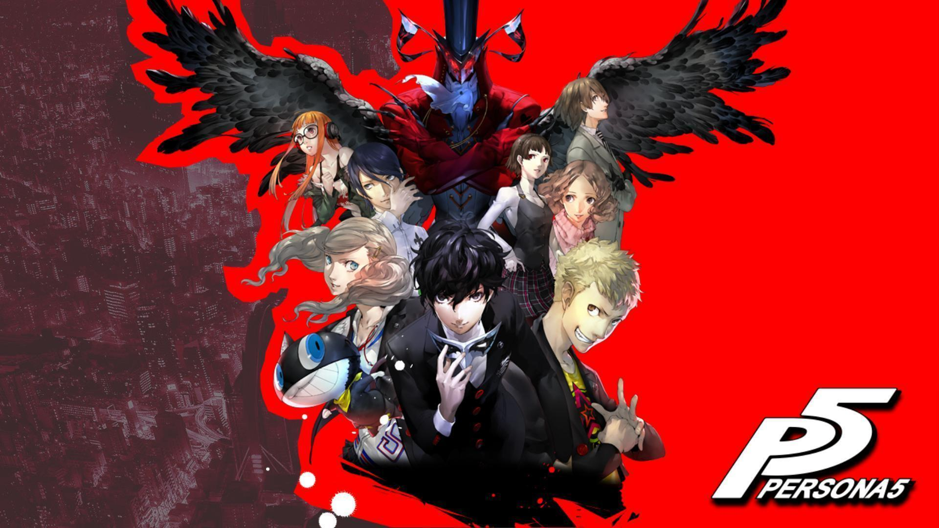 Phantom Thieves HD Wallpaper.
