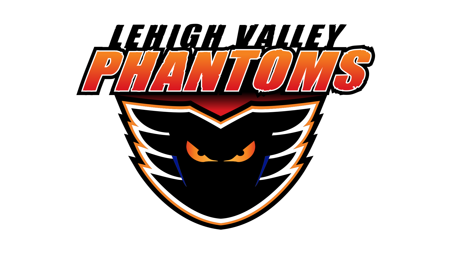 Meaning Lehigh Valley Phantoms logo and symbol.