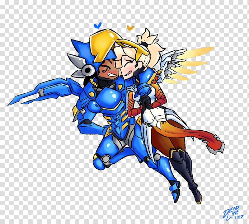 Overwatch Mercy Art , others transparent background PNG.