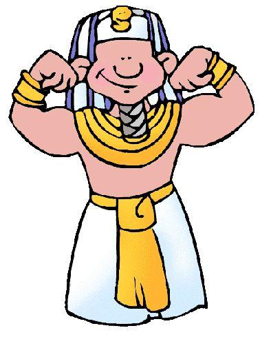 Egyptian Pharaoh Clipart.