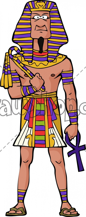 King Pharaoh Clipart.