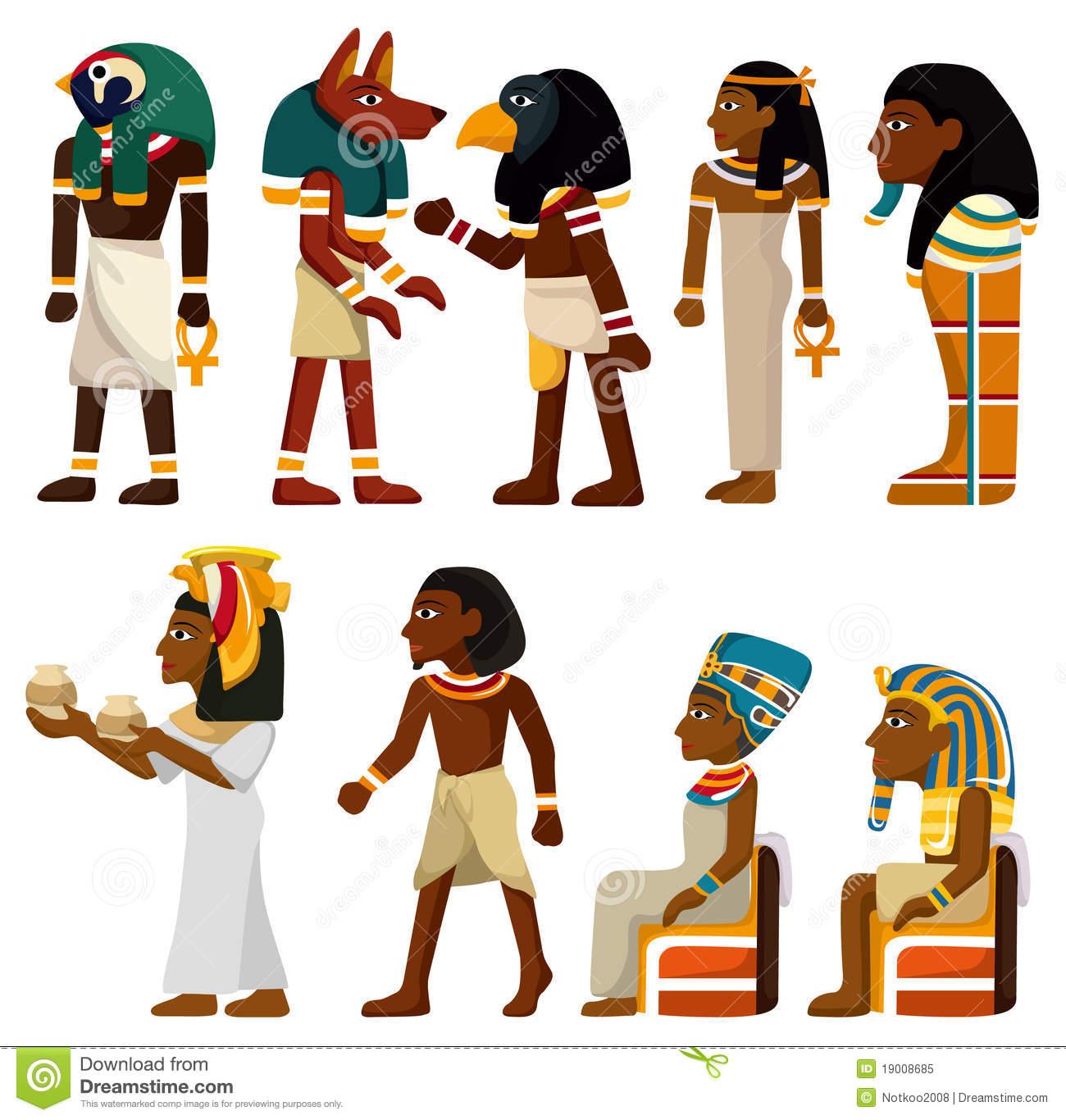 Pharaoh Stock Illustrations.