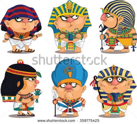 Pharaoh Stock Images, Royalty.