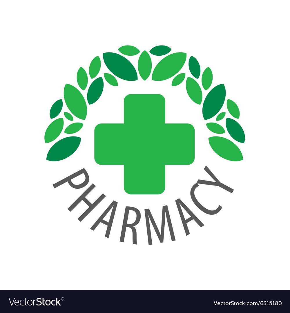Round logo for pharmaceutical companies.