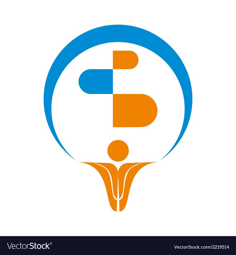 Pharma Logo Symbol.