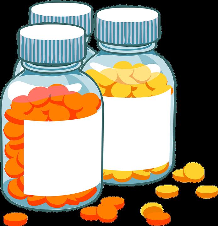 Supplements Clip Art.