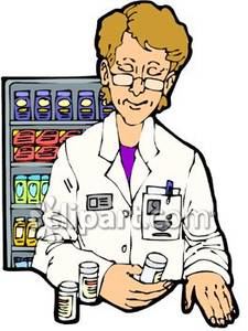 Pharmacist Clipart.