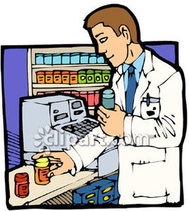 Pharmacy Building Clipart.