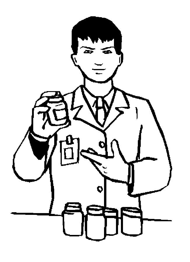 239 Pharmacist free clipart.