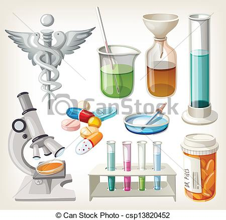 Pharmacology clipart.