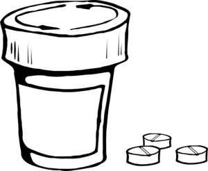 Prescription Clipart.