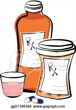 Prescription Bottle Clipart.