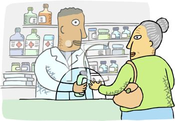 Pharmacy Clipart Black And White.