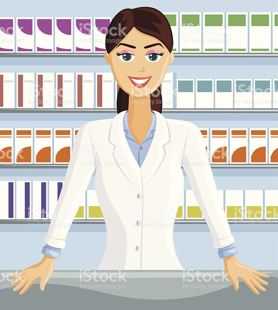 239 Pharmacist free clipart.