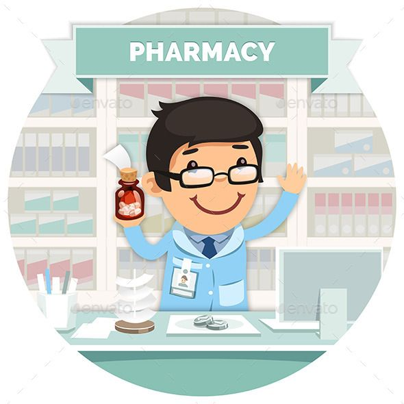 Pharmacist clipart pharmacy counter, Pharmacist pharmacy.