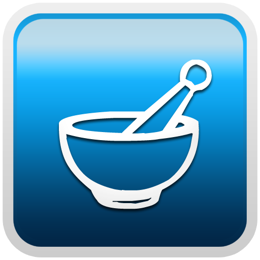 Mortar Pestle pharmacy sign clipart image.