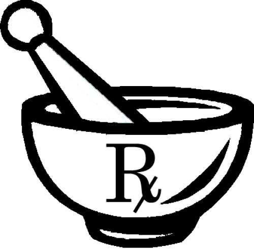 Image of the Pharmacy Symbol.