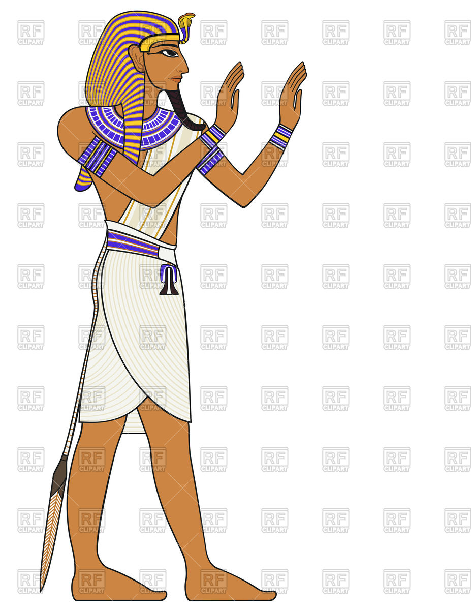 Pharaoh, egyptian ancient symbol Vector Image #72820.