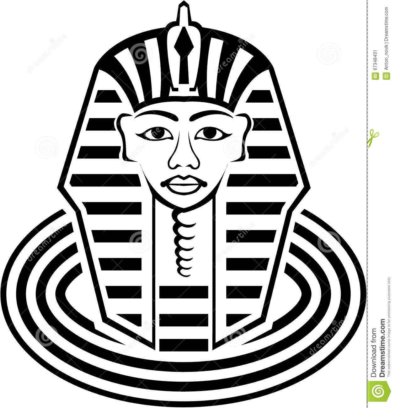 Pharaoh Vector Stock Vector.