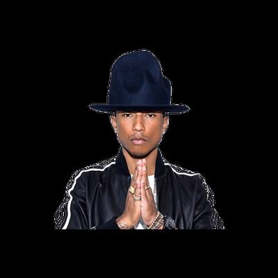 Pharrell Williams Hat transparent PNG.