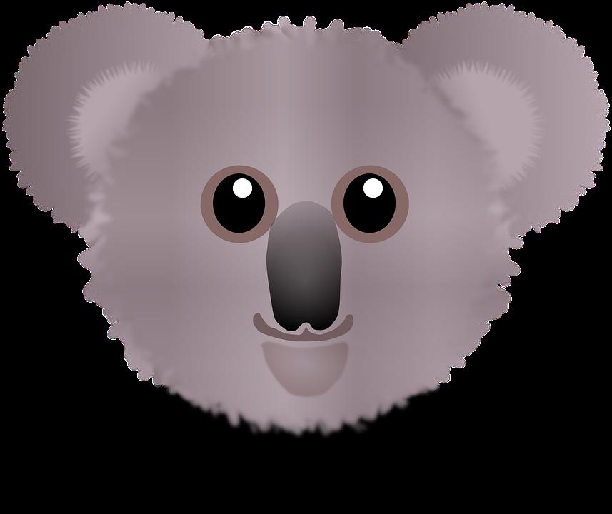 Free vector graphic: Koala, Bear, Wombat, Koala Bear.