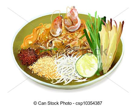 Pad thai Illustrations and Clip Art. 62 Pad thai royalty free.