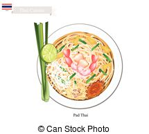 Pad thai Vector Clip Art Royalty Free. 47 Pad thai clipart vector.