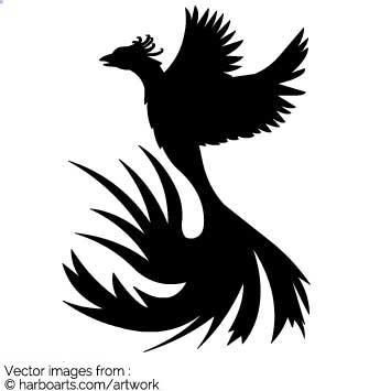 Download : Phoenix Silhouette.