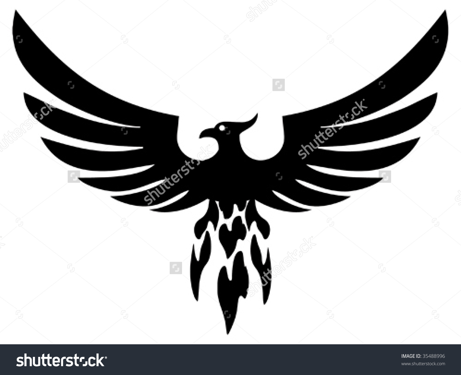 pheonix silhouette clipart 20 free cliparts