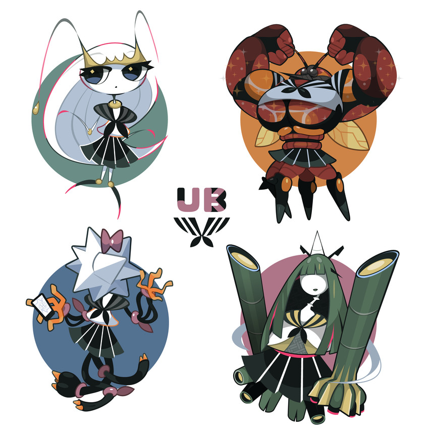 buzzwole, celesteela, pheromosa, and xurkitree (pokemon, pokemon.