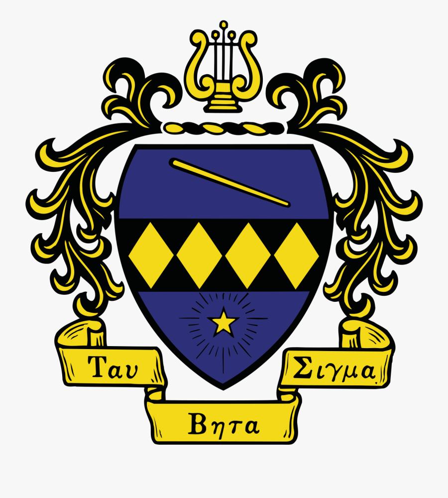 Tau Beta Sigma Crest Transparent , Free Transparent Clipart.