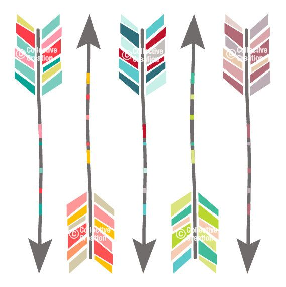 Pi Phi Arrow Clipart.